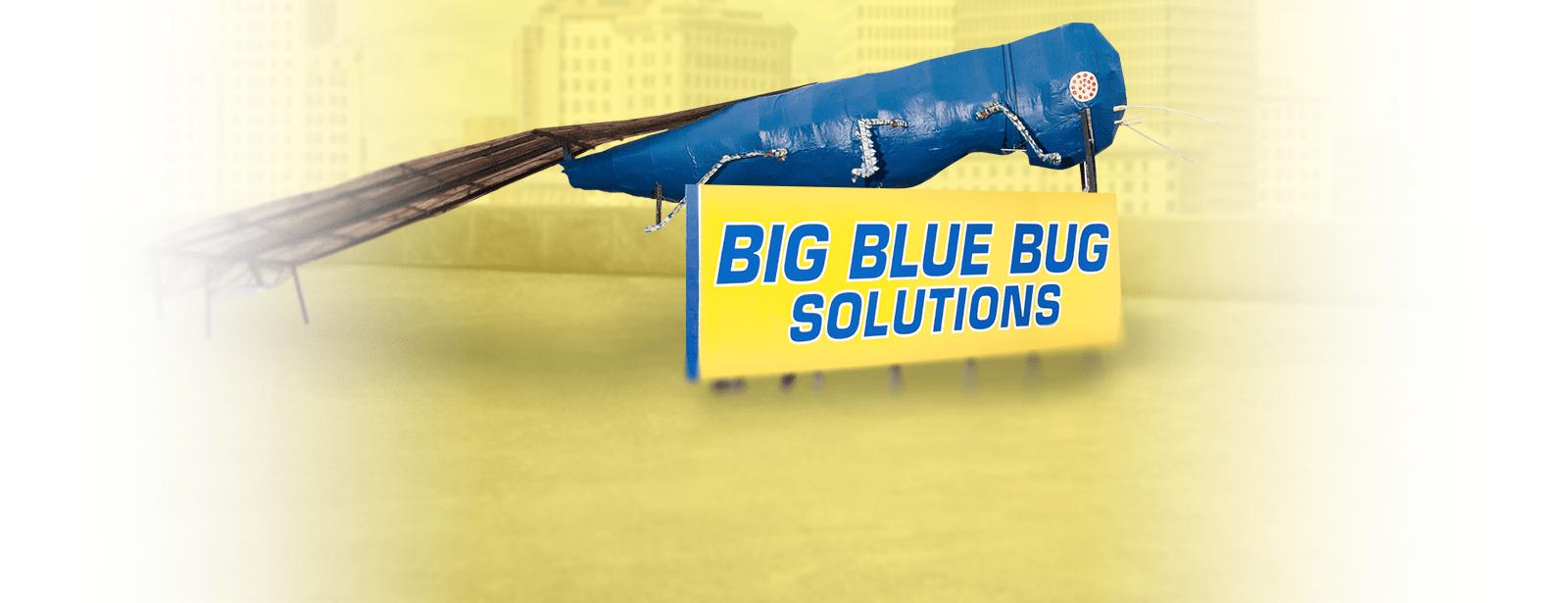 the big blue bug mascot in providence rhode island
