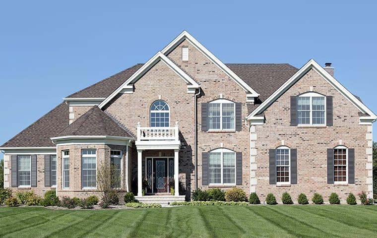 street view of a large suburban home in allen texas