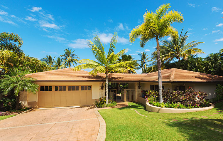 the exterior of a home in kailua hawaii