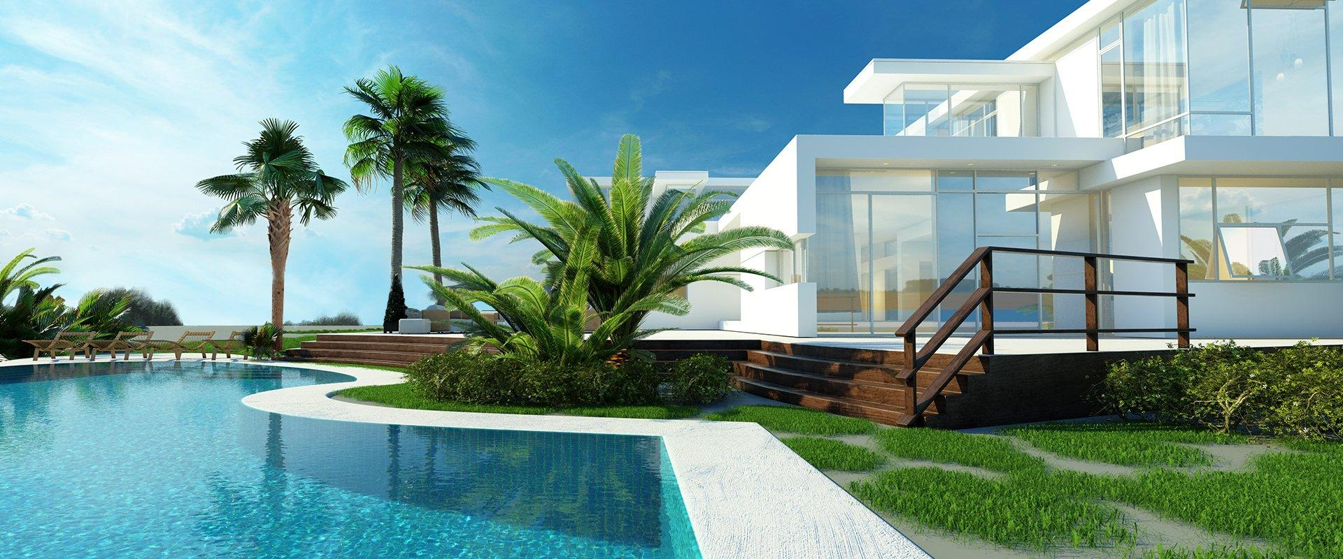 street view of a home in providenciales
