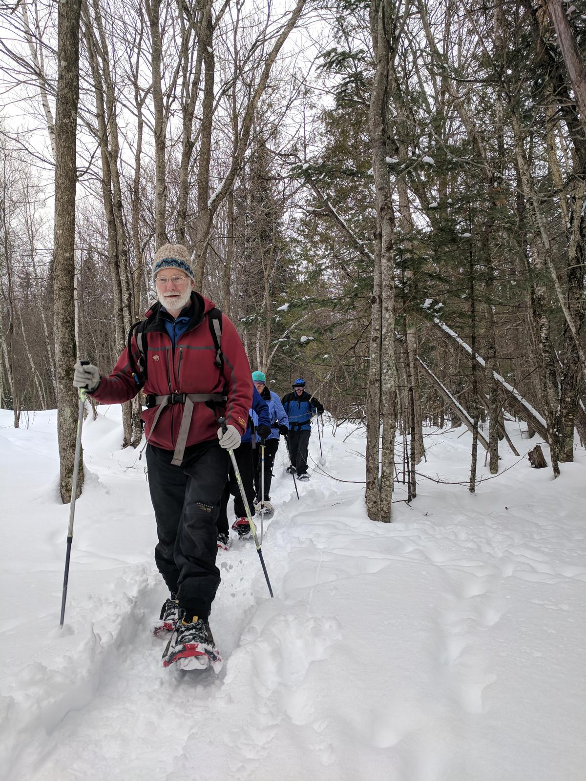 Snowshoeing is a great winter activity! Photo credit: Inland Woods + Trails