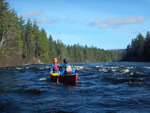 Dead River Release: 1300 cfs