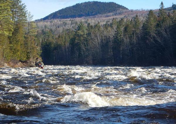 Dead River Release: 2400 cfs
