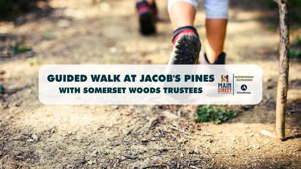 Guided Walk at Jacob's Pines with Somerset Woods Trustees