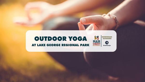 Outdoor Yoga at Lake George Regional Park