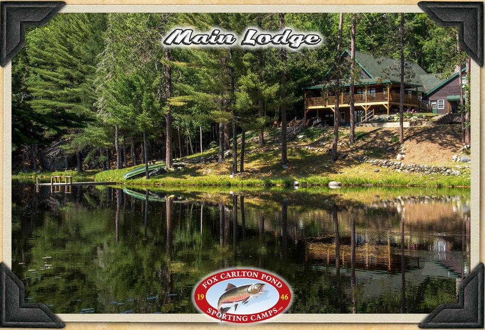 The lodge at Fox Carlton Camps
