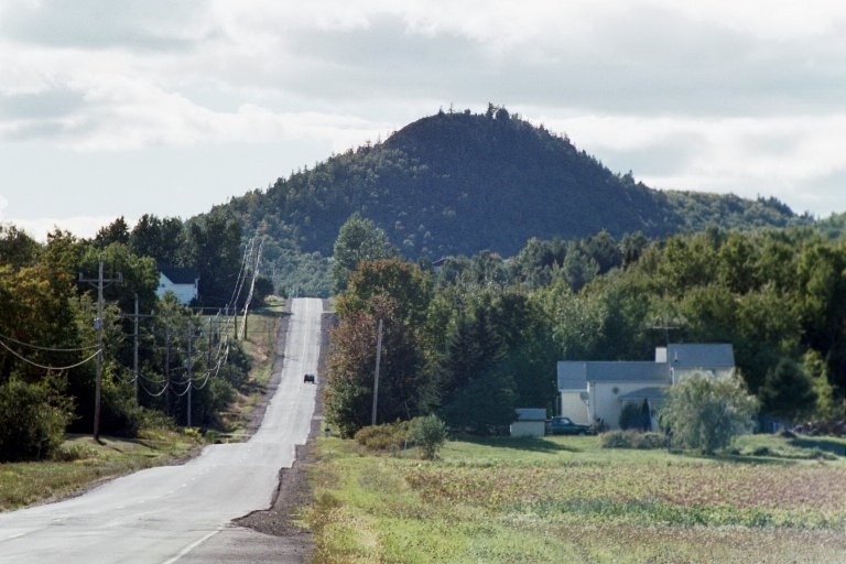 Haystack Mountain from Castle Hill (Credit: Maine: an Encyclopedia)