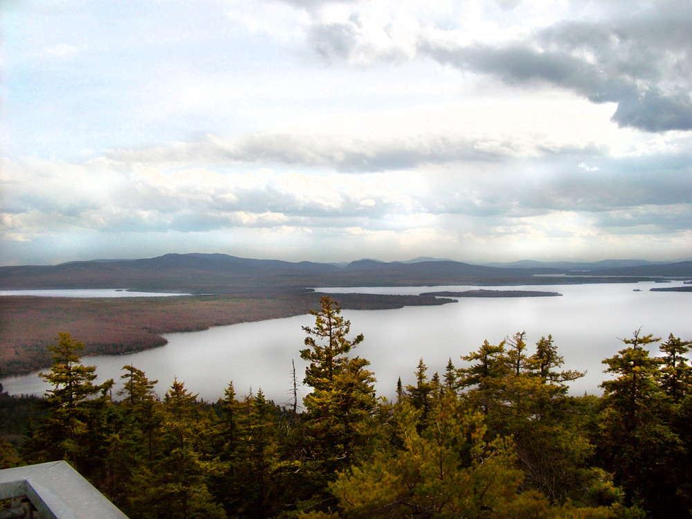 Autumn View from Bald Mountain (Credit: Maine Bureau of Parks and Lands)