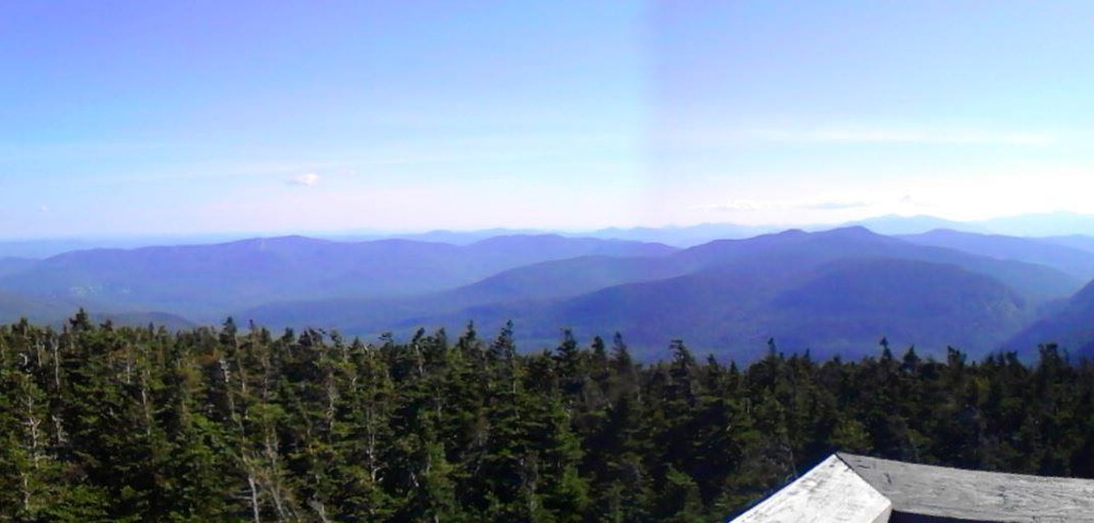 View from the top of the tower, which makes the rigorous hike well worth it!! (Credit: Lisa C)