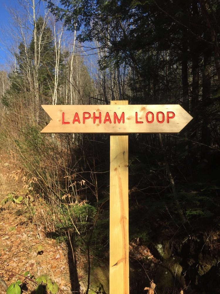 Lapham Loop; built 2017 (Credit: Mahoosuc Pathways)