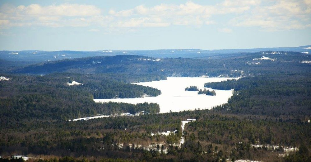 Norway Lake from the ledges of Noyes (Credit: Carl Costanzi)