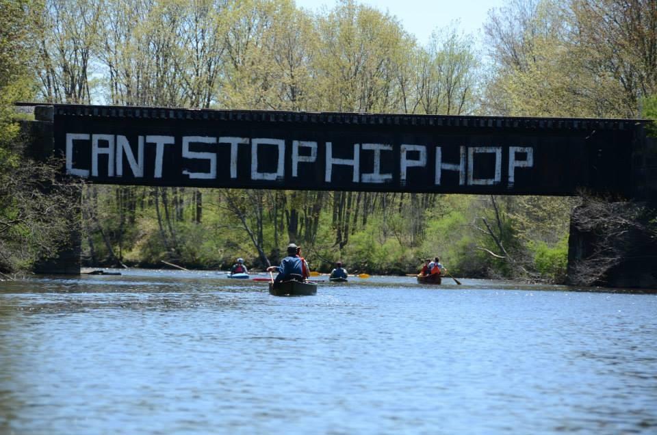 Spring Fling paddling, 2013 (Credit: Royal River Conservation Trust)