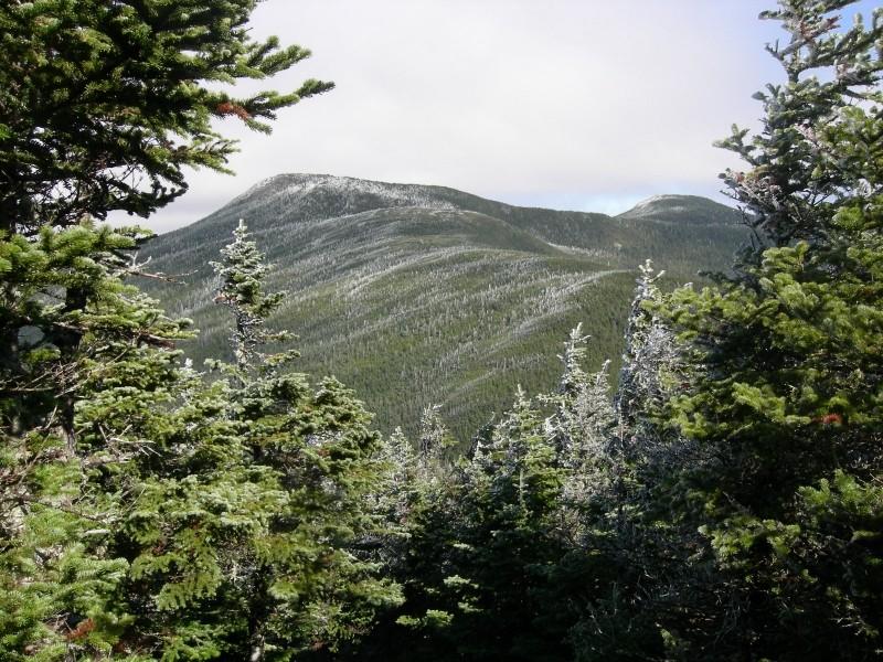 """The East Peak of Goose Eye seen from South Peak (Credit: C. """"Eeyore"""" Hitchcock)"""