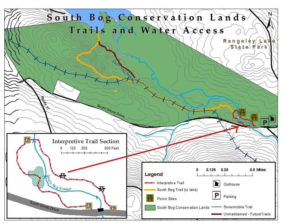 Trail Map (Credit: RLHT)