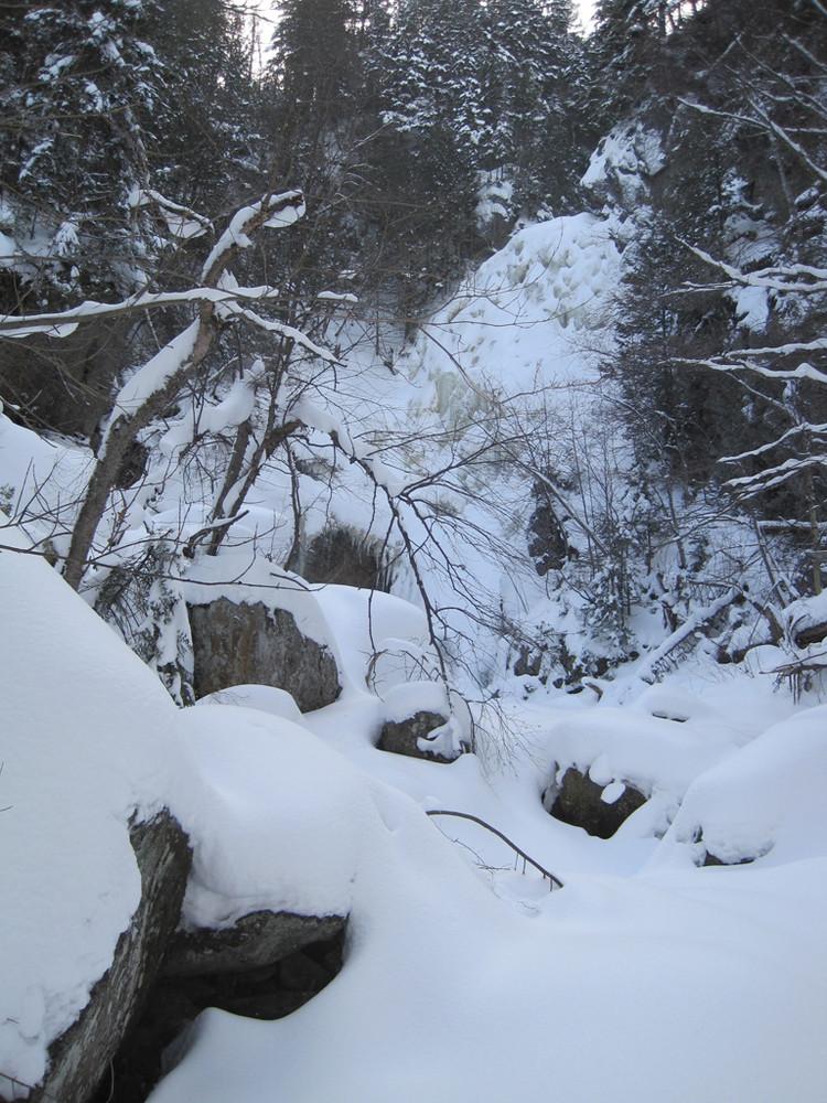 Angel Falls in winter (Credit: Bill Geller)