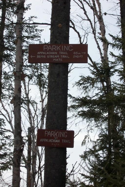Bemis Trailhead (Credit: Maine Appalachian Trail Club)