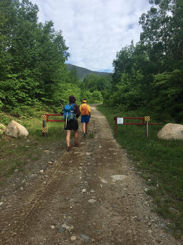 Start of Berry Picker's Trail (Credit: SOM)