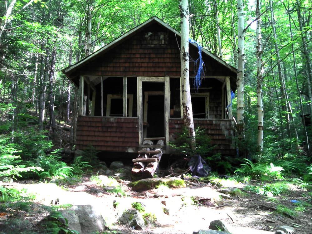 Big Moose Cabin (Credit: Maine Bureau of Parks and Lands)