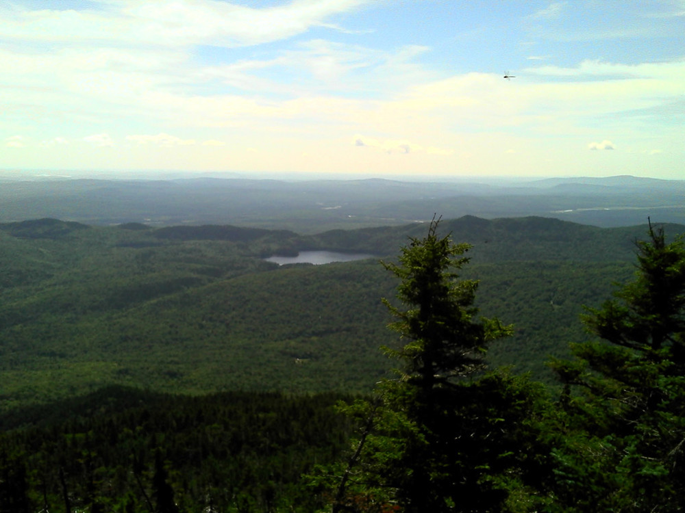 View from Summit (Credit: Maine Bureau of Parks and Lands)