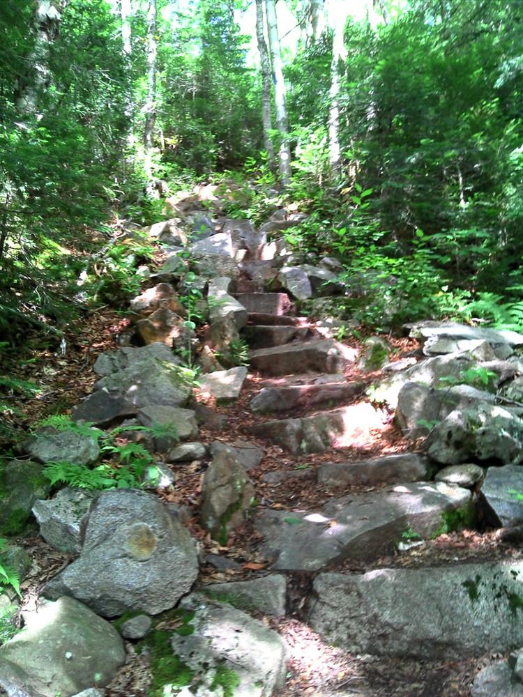 Stone Steps (Credit: Maine Bureau of Parks and Lands)