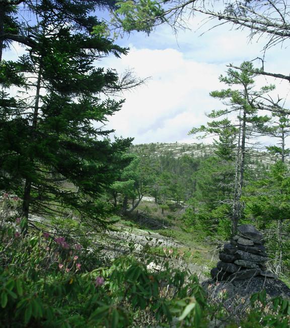 Black Mountain Cairn (Credit: Maine Bureau of Parks and Lands)