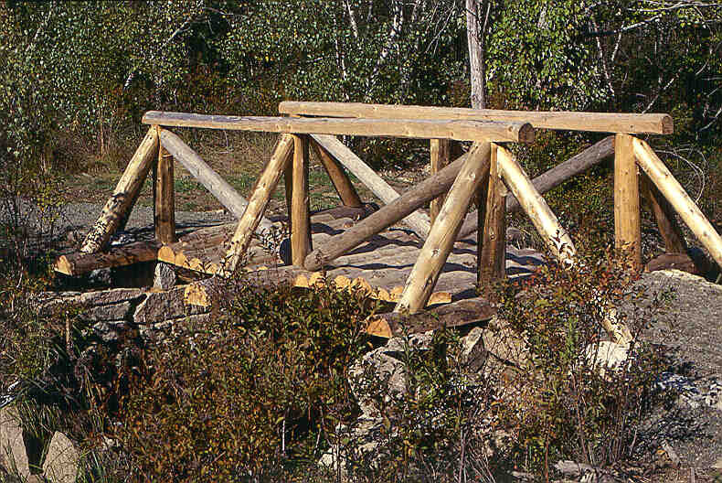 Wooden Footbridge (Credit: National Park Service)