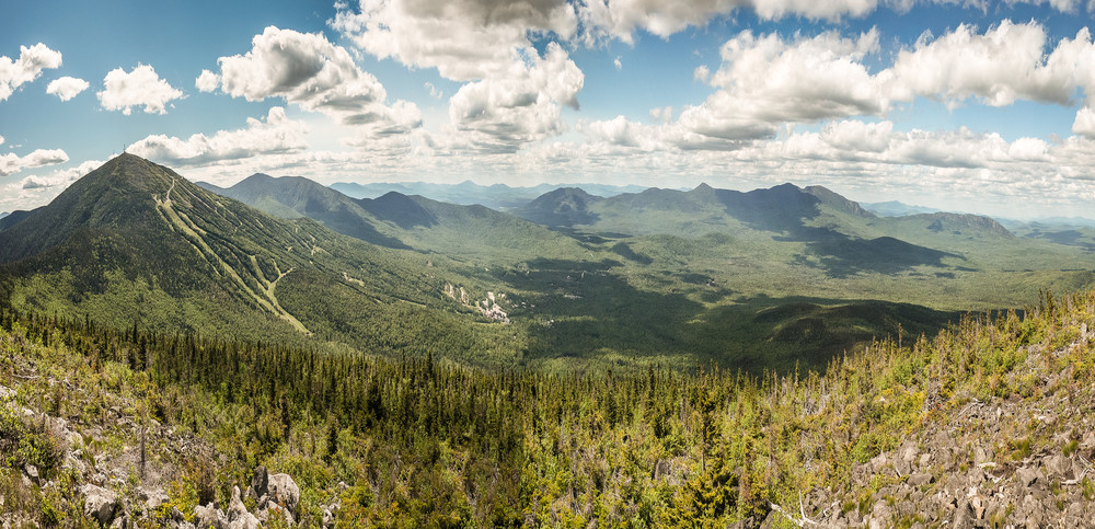 View from Burnt Mountain Summit (Credit: Waylon Wolfe)