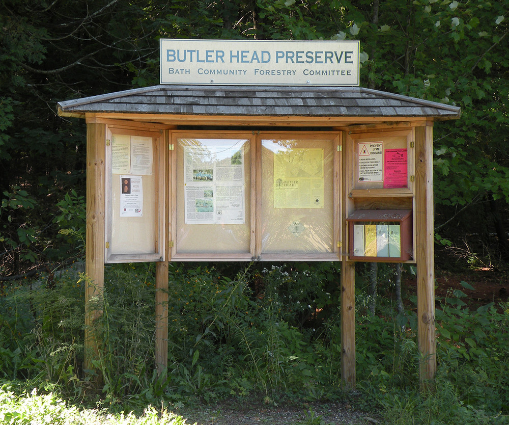 Kiosk (Credit: Bath Community Forestry Committee)