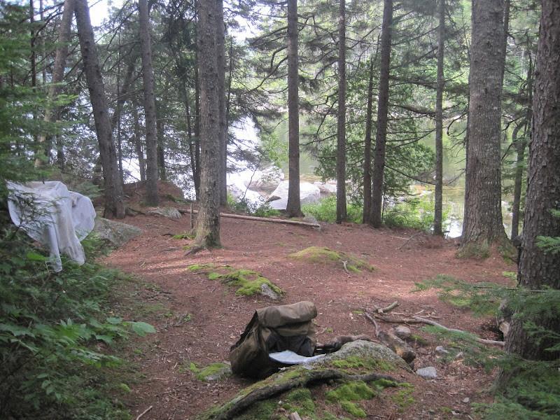 End of Trail at Rainbow Lake (Credit: Bill Geller)