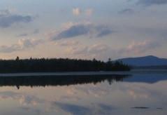 Lake Umbagog at dusk (Credit: Carolina Vasconcelos/USFWS)