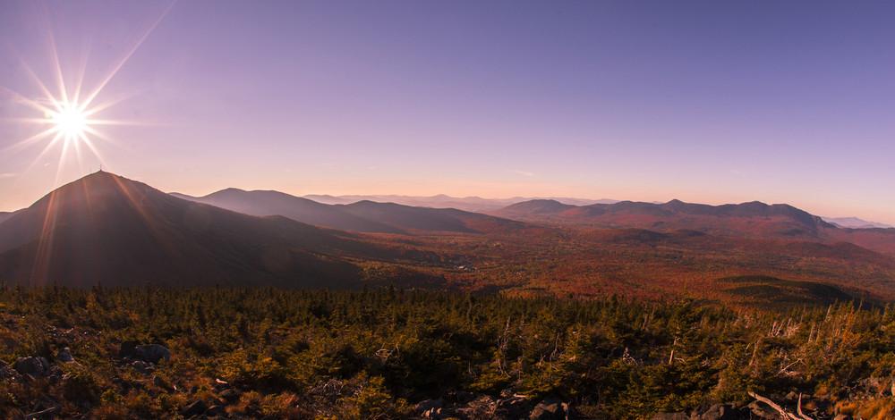 Sunset from Burnt Mountain 2 (Credit: Waylon Wolfe Photography - wickedgoodpics.com)