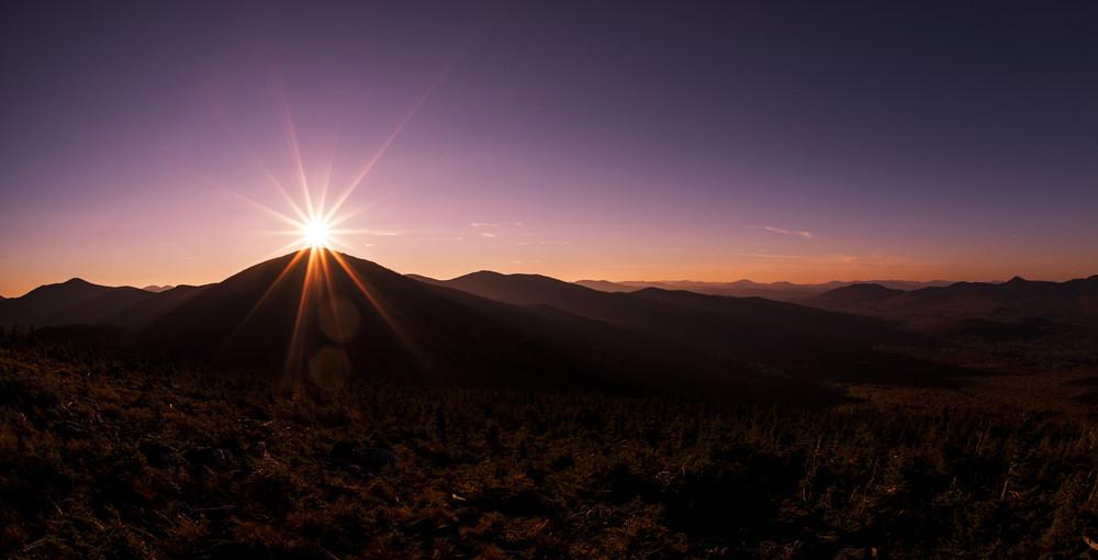 Sunset from Burnt Mountain 3 (Credit: Waylon Wolfe Photography - wickedgoodpics.com)