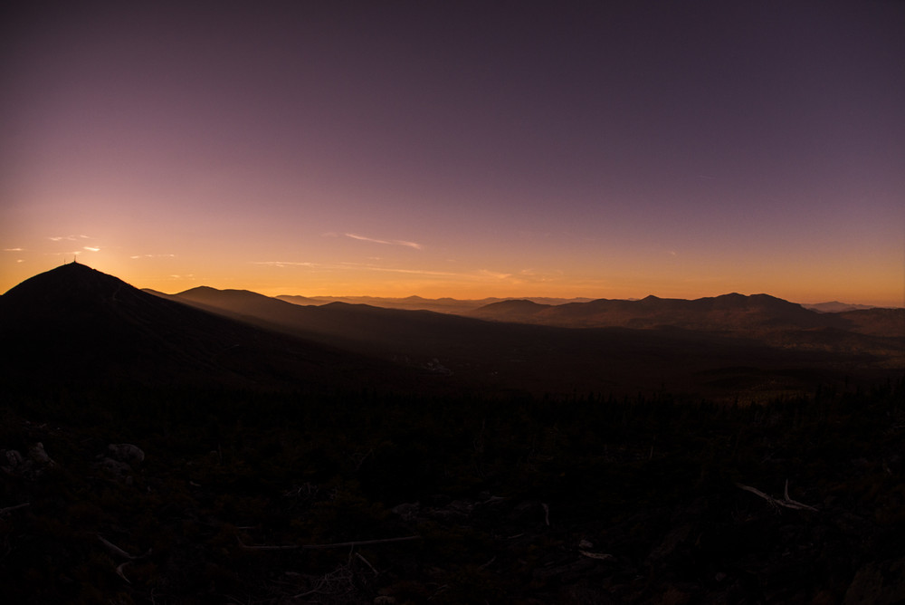 Sunset from Burnt Mountain 1 (Credit: Waylon Wolfe Photography - wickedgoodpics.com)