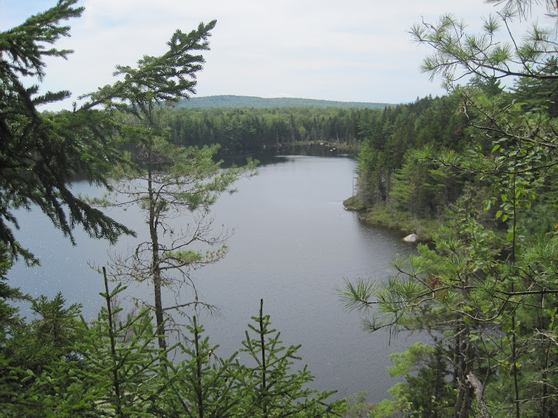 Clifford Pond from the Cliffs Looking West (Credit: Bill Geller)