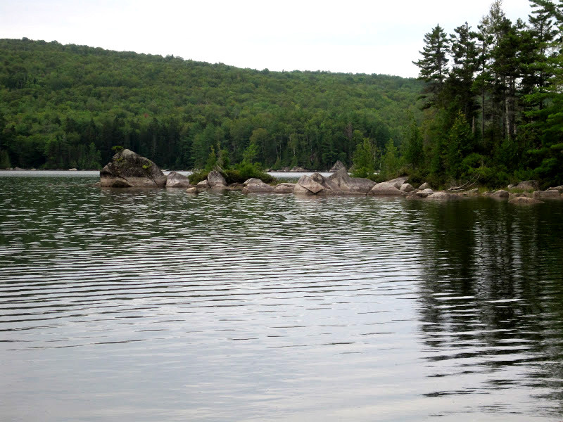 Cove at the End of the Trail on Rainbow Lake (Credit: Bill Geller)