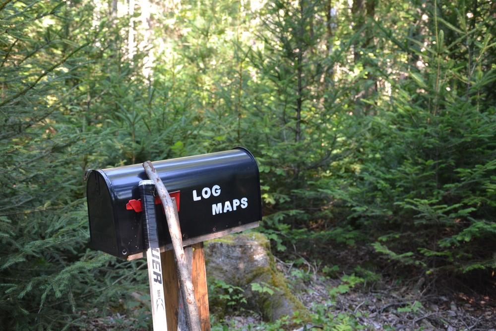 Info mailbox (Credit: Maine Trail Finder)