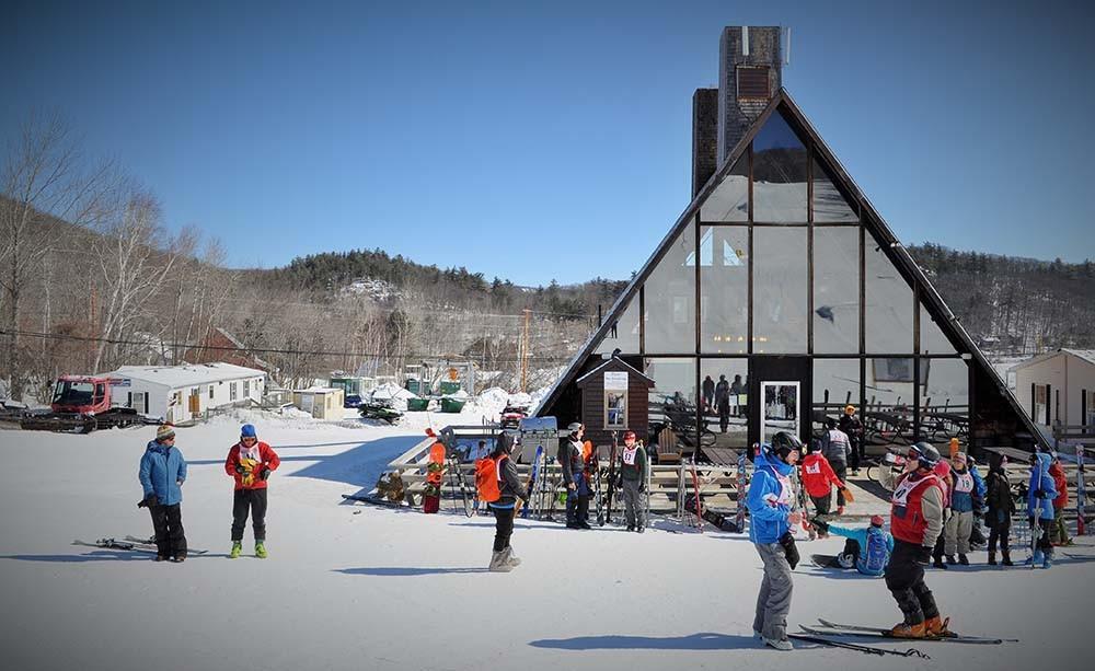 Camden Snow Bowl lodge (Credit: Camden Snow Bowl)
