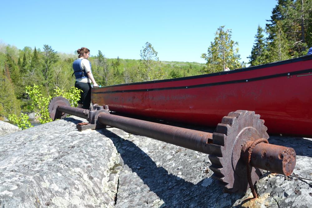 Old dam hardware (Credit: Nicole Grohoski)