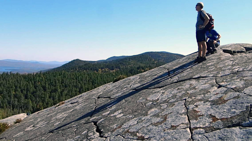 Unique geology of Eagle Rock (Credit: ME BPL)