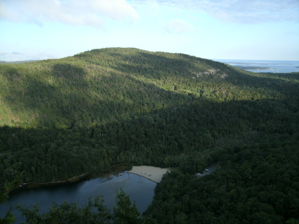 Echo Lake and St. Sauveur Mountain (Credit: National Park Service)