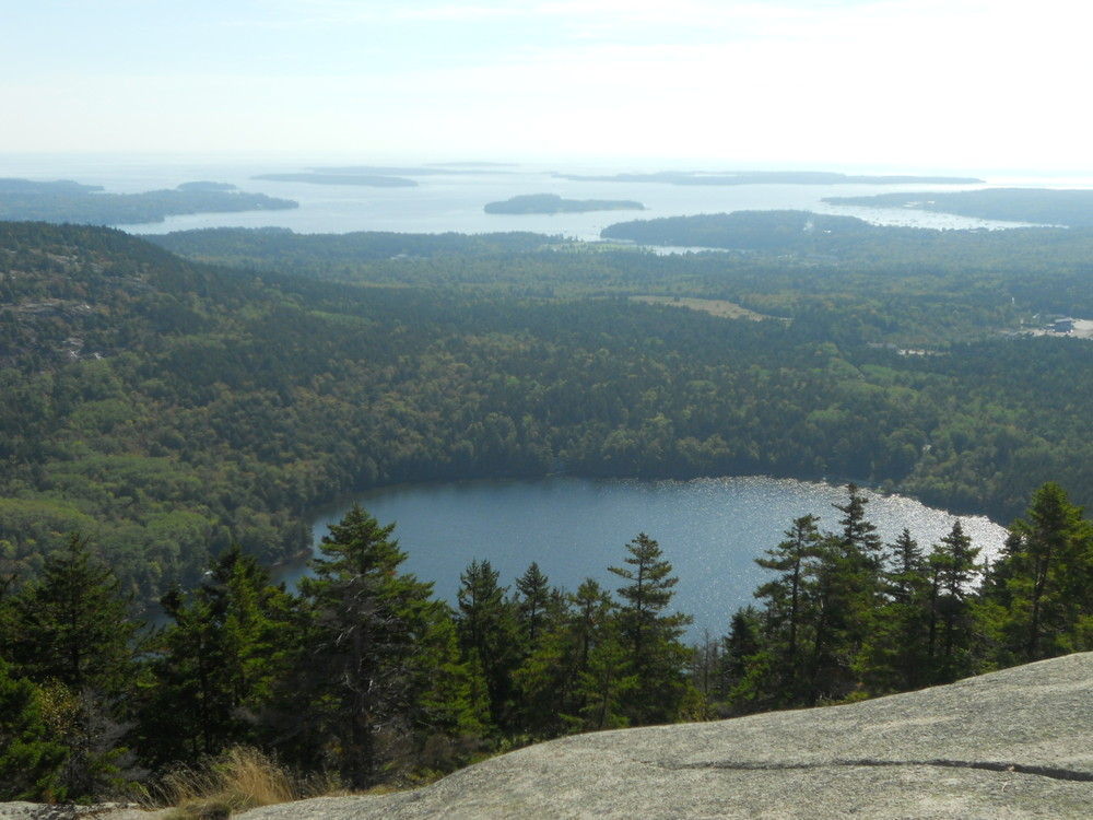 View of Long Pond and outlying islands (Credit: National Park Service)