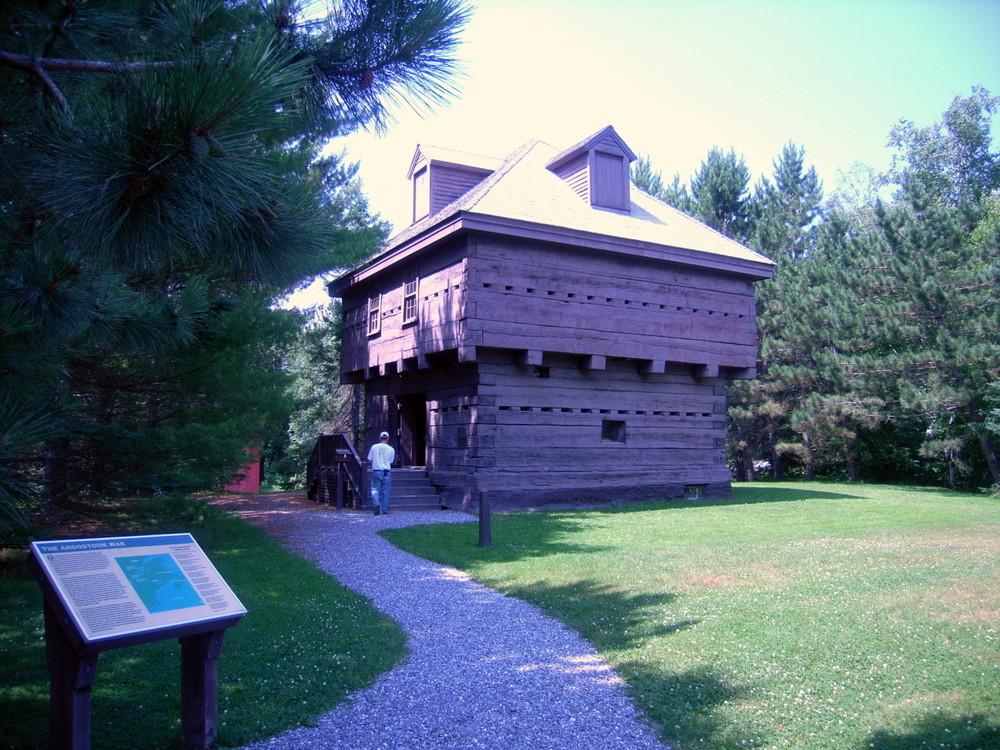 The Fort Kent Blockhouse (Credit: Aroostook Outdoors)