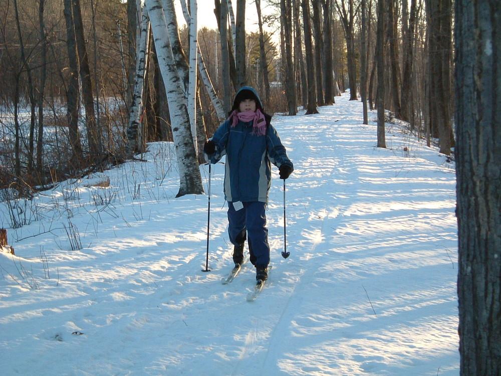 Skiing (Credit: Kennebec Messalonskee Trails)
