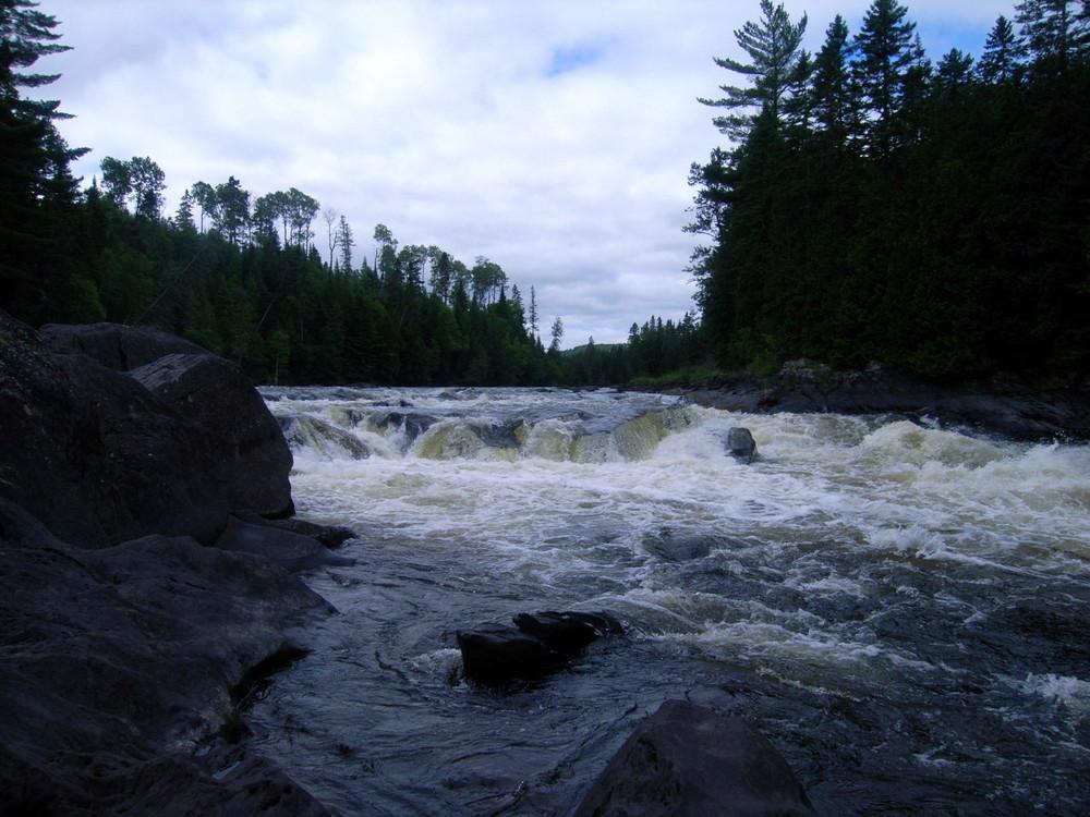 Fish River Falls (Credit: Aroostook Outdoors)