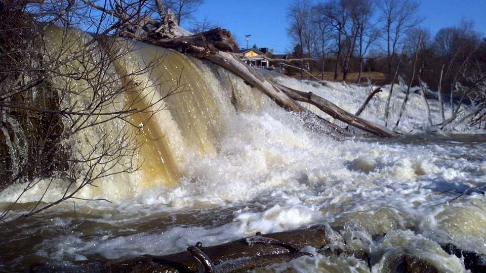 Fourth Falls East Elm Street Dam (Credit: Royal River Conservation Trust)