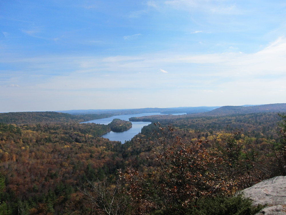 Long Pond from French Mountain (Credit: M. Morris)