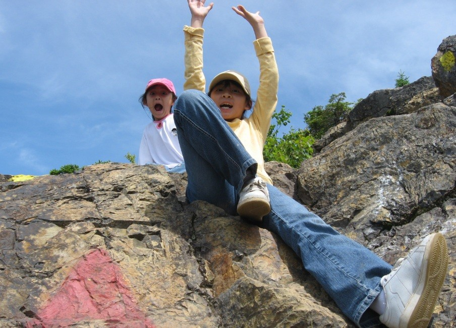 Haystack's rocky summit (Credit: Aroostook Outdoors)
