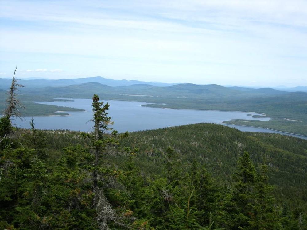 Flagstaff Lake from Little Bigelow (Credit: Maine Appalachian Trail Club)