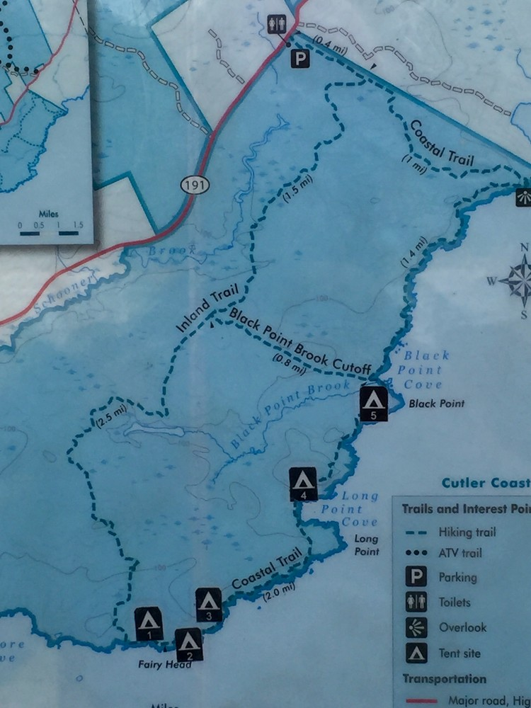 Trail Map (Credit: SH)