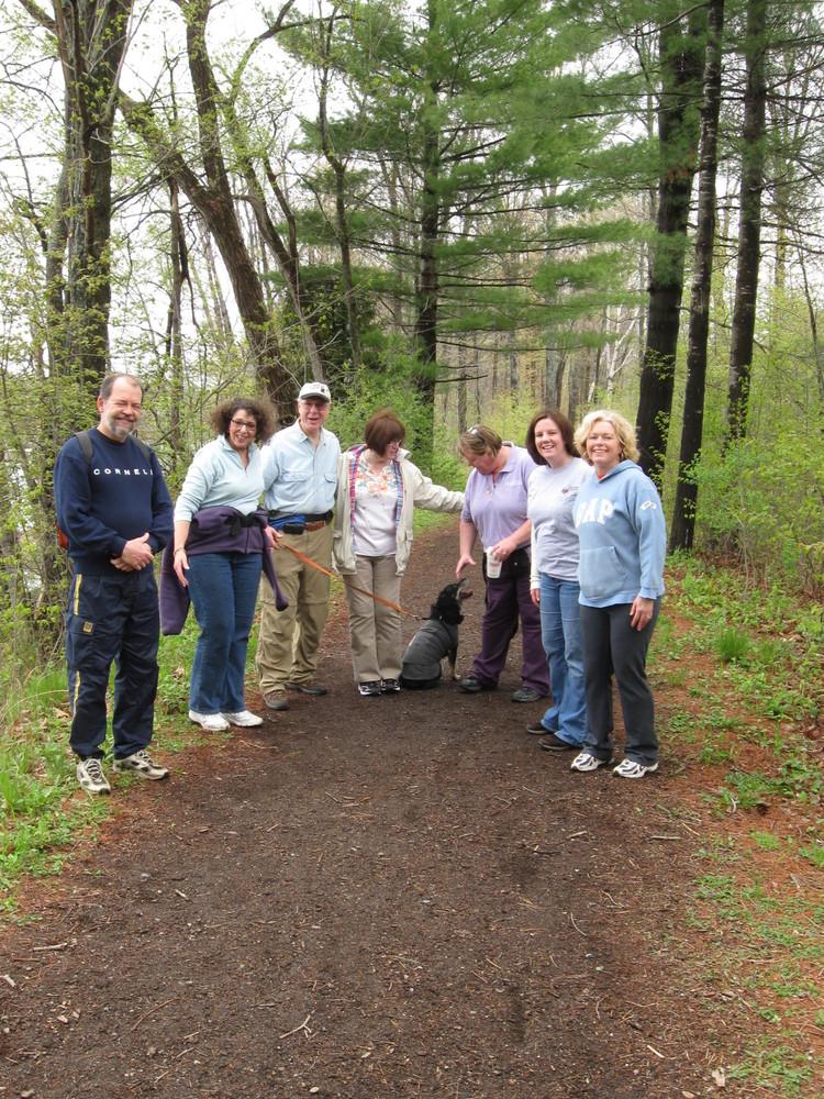 Group Hike (Credit: Kennebec Messalonskee Trails)